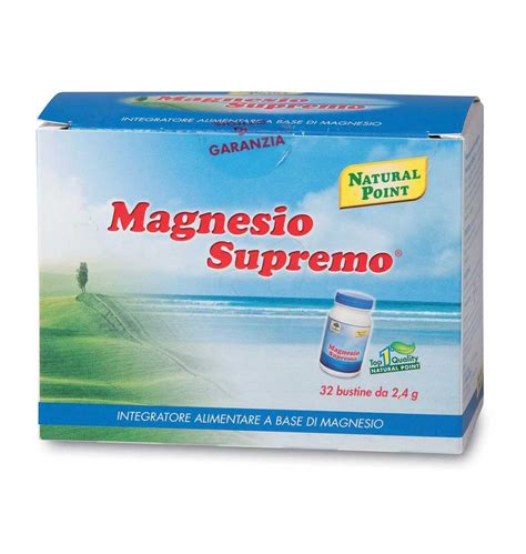 Point Magnesio Supremo by Magnesio Supremo Point 32 Bustine Naturas 236 Il