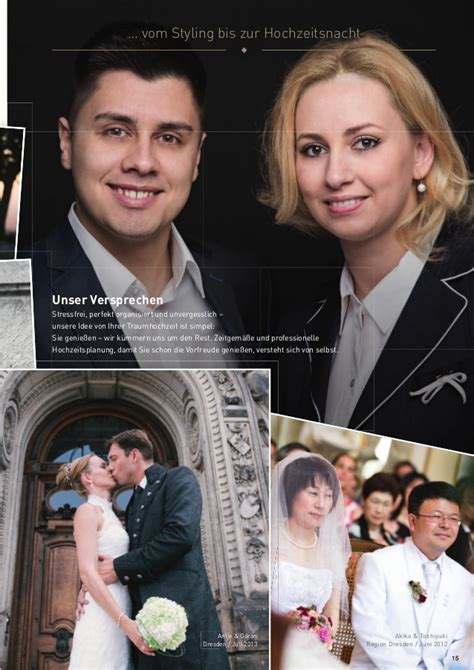 Heiraten Magazin by Magazin Heiraten In Dresden 2014