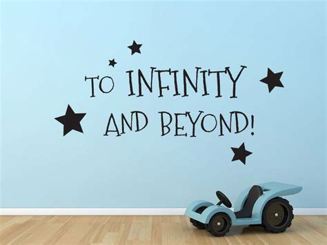 Buzz Lightyear Wall Stickers to infinity and beyond buzz lightyear toy story by