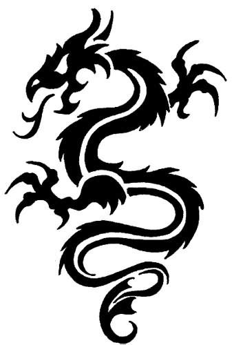 tribal chinese dragon tattoos 12 awesome tribal tattoos only tribal