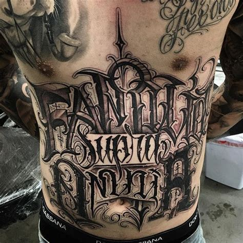 tattoo fonts up and down lettering tattoos by mystik tattoodo
