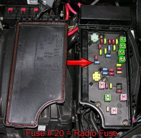 fuse box dodge avenger 2008 2008 dodge avenger fuse box fuse box and wiring diagram