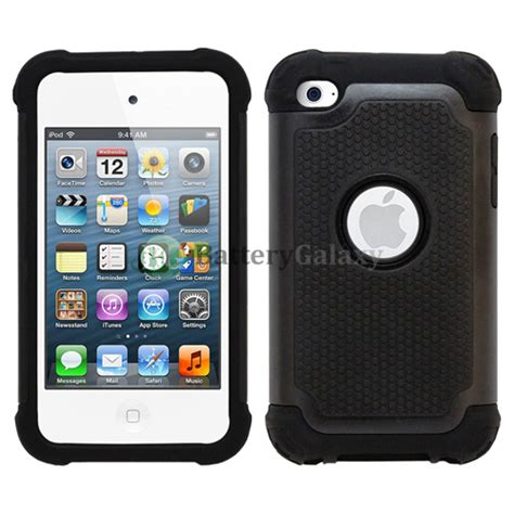 hybrid rugged rubber matte cover skin for apple