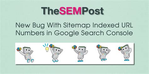 bug  indexed url numbers  google search console