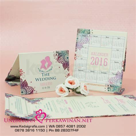 Kalender Pernikahan undangan pernikahan kalender duduk undanganperkawinan