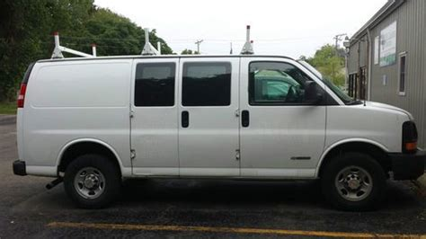 how to work on cars 2005 chevrolet express 1500 auto manual purchase used 2005 chevy express 2500 cargo van with hvac bin package and ladder rack in