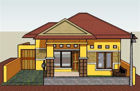 gambar desain rumah impian sederhana minimalis model