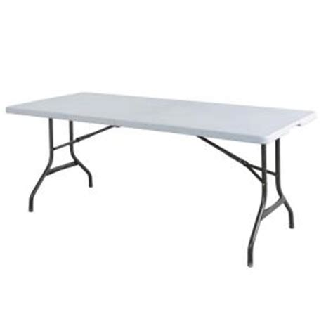 Folding Tables Home Depot by Hdx White Banquet Folding Table Tbl 072 The Home Depot
