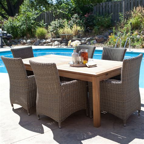 bistro patio curved wicker furniture weather and