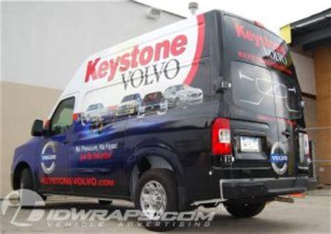 nissan nv cargo parts van  vinyl wrap  car dealer  warrington