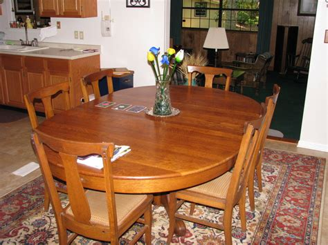 Refinished Dining Room Table by Refinishing A Dining Room Table By Ferstler