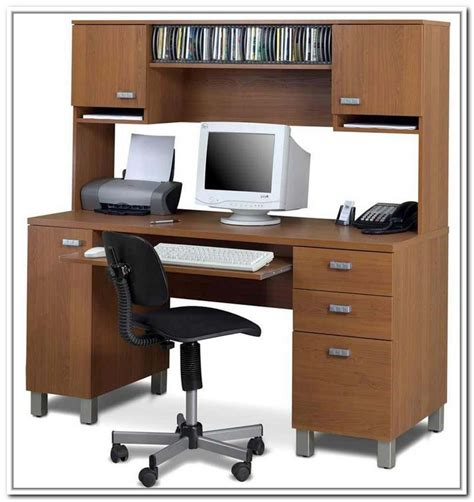 Computer Desk With Shelves Above Excellent Corner Computer Table Application For You Today Atzine