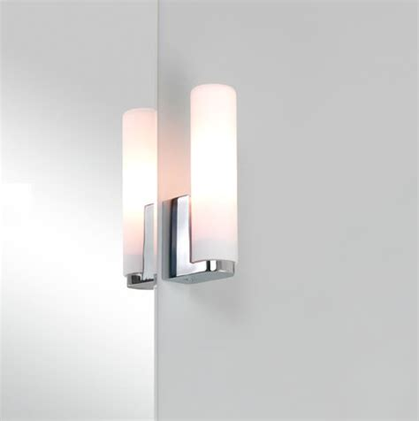 bathroom tube lights tulsa bathroom tube wall light in polished chrome with