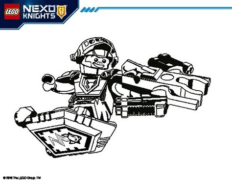 nexo knights coloring pages aaron fly with aaron fox coloring page coloringcrew com