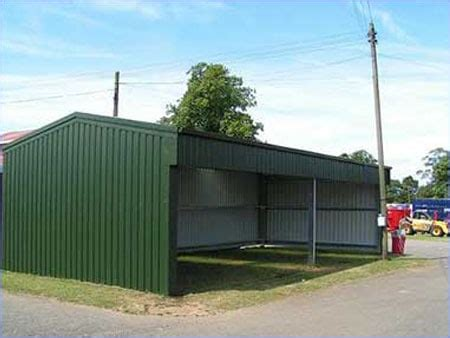 Cyclone Sheds by Open Farm Shed Steel Agricultural Building Cyclone Steel