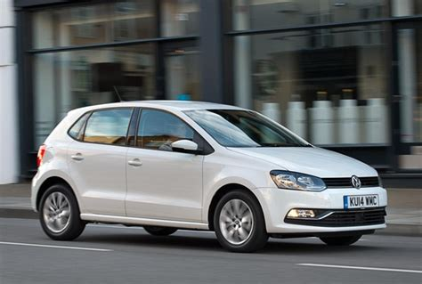 white volkswagen polo first drive review volkswagen polo facelift 2014