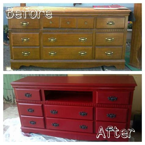 How To Turn Dresser Into Entertainment Center by Dresser At A Yard Sale Turned Into A Beautiful