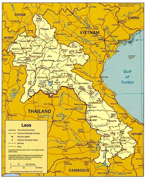 map of laos map of laos lao s democratic republic maps mapsof net