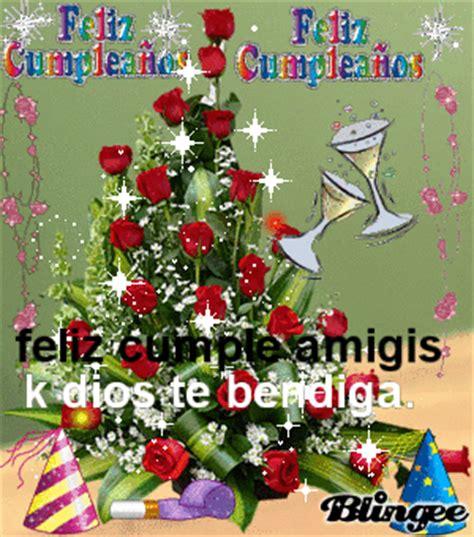 imagenes feliz cumpleaños amiga flores feliz cumpleanos picture 128966231 blingee com