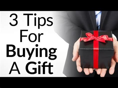 8 Tips On Finding The Gift by 3 Tips For Buying A Gift How To Give The Gifts