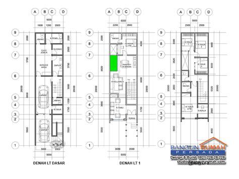 desain rumah 3 lantai di lahan 5 x 20 m2 brp 502 studio desain rumah jakarta