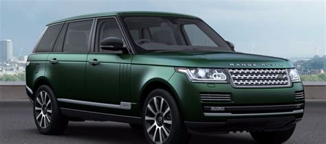 range rover dark green the hunt for a green car land rover driven to write