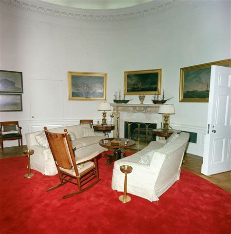 oval office redecoration st c416 2 63 redecorated oval office with president john