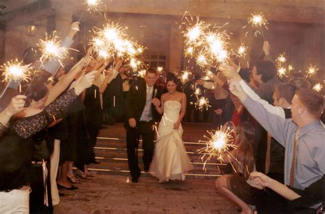 Wedding Sparklers by Wedding Sparklers Lighting Up The Bliss Events