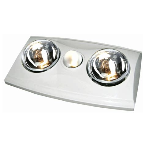 bathroom ventilation fans with light and heat ventair eko2 exhaust fan 3 in 1 with heat light white