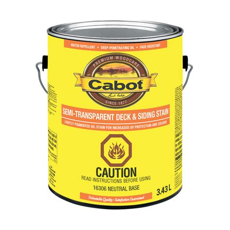 cabot semi clear deck stain ca  reno depot