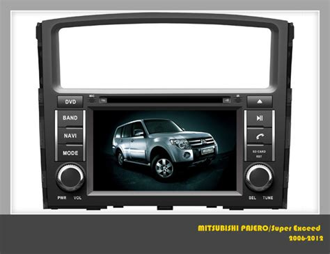 Multimedia Mitsubishi All New Pajero Sport 10 Inch car dvd for mitsubishi pajero special dvd player with gps