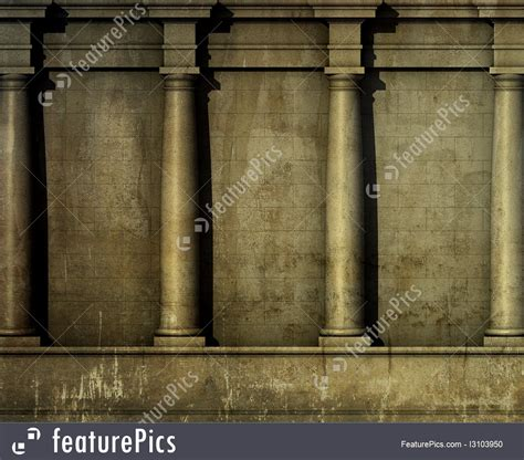 classic architectural wall embellishments featuring antique classic architecture illustration