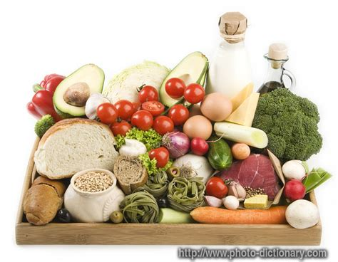 food dictionary healthy food photo picture definition at photo dictionary healthy food word and