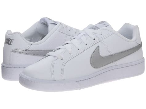 Nike Royal Lw Original nike court royale white metallic silver zappos free