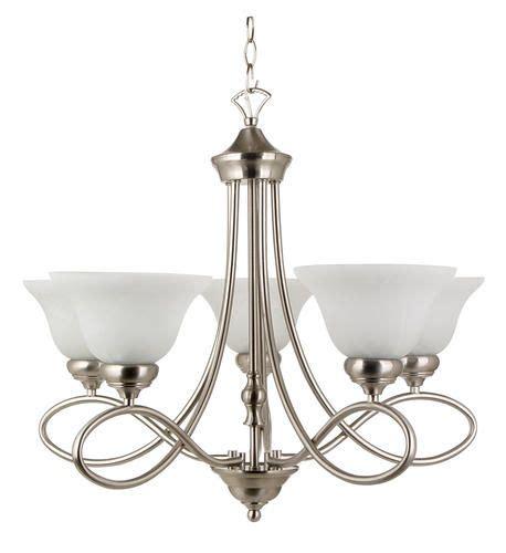 kitchen light fixtures menards 79 thru 12 4 rianto 5 light chandelier brushed steel