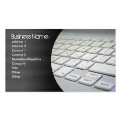 computer repair business cards zazzle