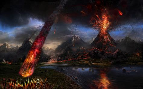 Volcano L by Ark Survival Evolved Erupting Volcano Incoming Survivethis