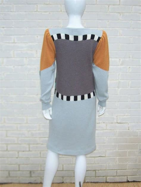 Bob Pop Sweater whimsical 1980 s bob mackie pop sweater dress for sale at 1stdibs