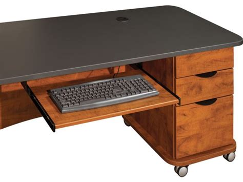 Keyboard Tray For Empowered 60 In Desks Emp Kb20 Office Office Desk With Keyboard Tray