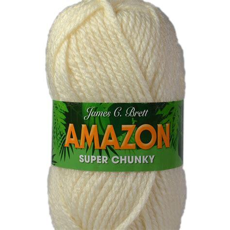 amazon yarn james c brett amazon super chunky knitting yarn