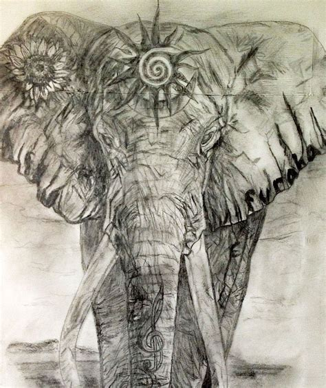 elephant yoga tattoo sacred elephant tattoo design for the heart chakra tania