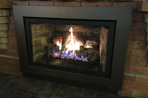 Gas Log Insert For Existing Fireplace builder s fireplace company fireplace inserts gas logs