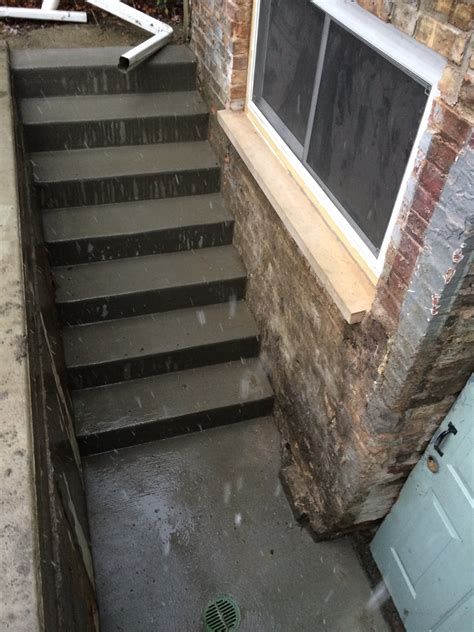 steps to finishing basement back basement steps two flat remade