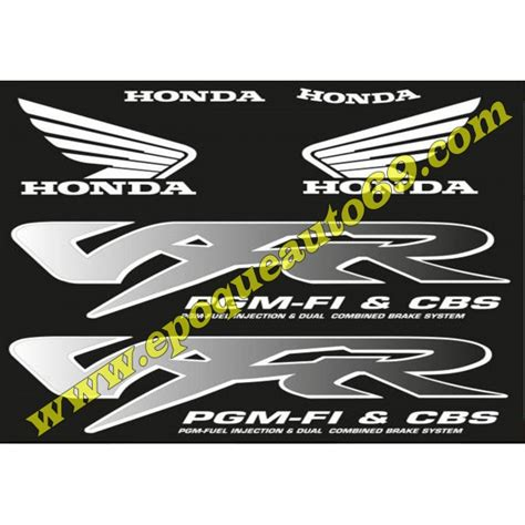 Sticker Honda Vfr 800 by Autocollants Stickers Honda Vfr 800 Pgm Fi Cbs