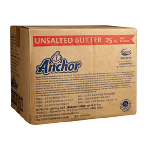 Anchor Unsalted Butter 25kg lim siang huat food products foodstuffs toiletries