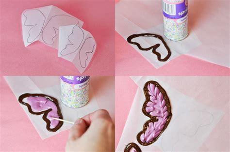 chocolate candy butterflies