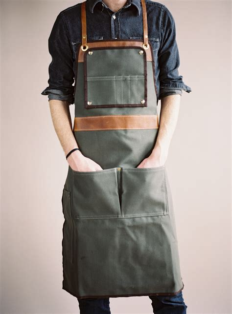 Apron Custom By Fsd Store kinfolk aprons kinfolk apron and leather