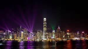 panoramio photo of hong kong laser light show