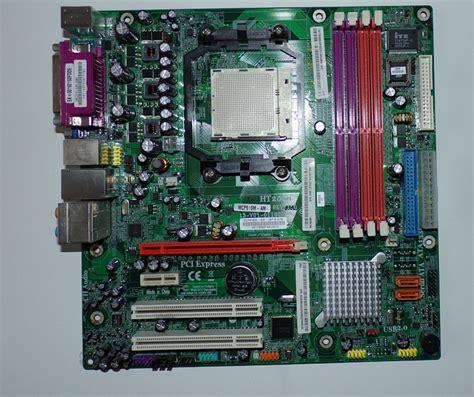 Sockel Am2 Mainboard by Mainboard Acer Mcp61sm Am Sockel Am2 Matx Ddr2 Ram L 252 Fter Blende Top Ebay