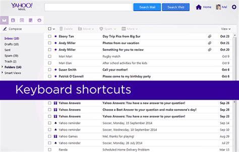 Yahoo Email Keyboard Shortcuts | keyboard shortcuts in yahoo mail yahoo help sln3578